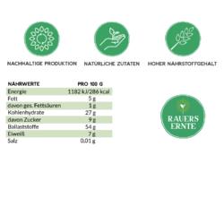 Nährwerte Aronia Protein-Pulver