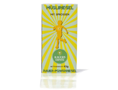 Rauer-Powerriegel Müsliriegel